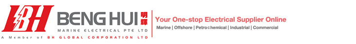 Beng Hui Marine Electrical: Your trusted Marine, Offshore, Petro-Chemical, Industrial, Commercial Electrical store Logo