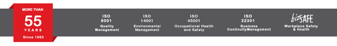 Beng Hui Marine ISO Certificate and 50 years plus